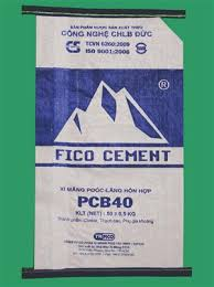 PP Kraft cement bags/sacks - 50 kg PP cement bags with kraft paper layer inside- high quality PP