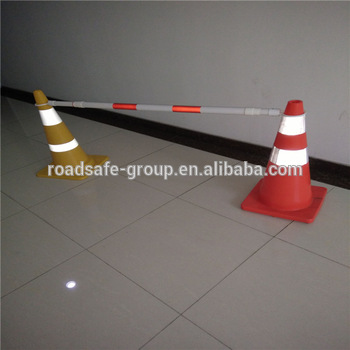 Road safety 32cm traffic cone connecting rod pole
