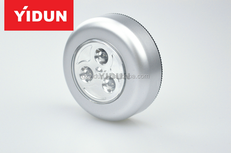 3 led stick tap touch auto nacht badkamer kast kledingkast lamp