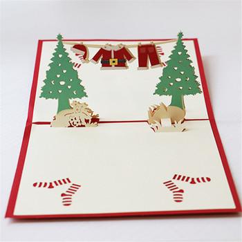 Wholesale Custom Christmas Gifts 3d Greeting Cards Creative Diy ...