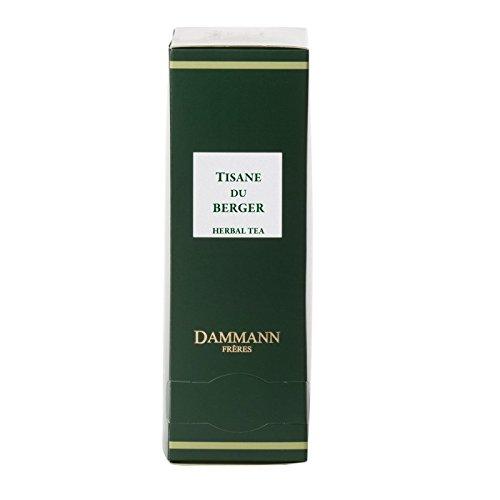 Dammann Frères - Herbal tea / Tisane du Berger - 2 x boxes of 24 enveloped Cristal sachets (48 count / tea bags)