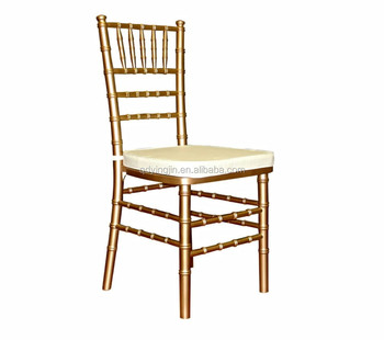 factory wholesale chiavari chairs gold with ivory cushion buy