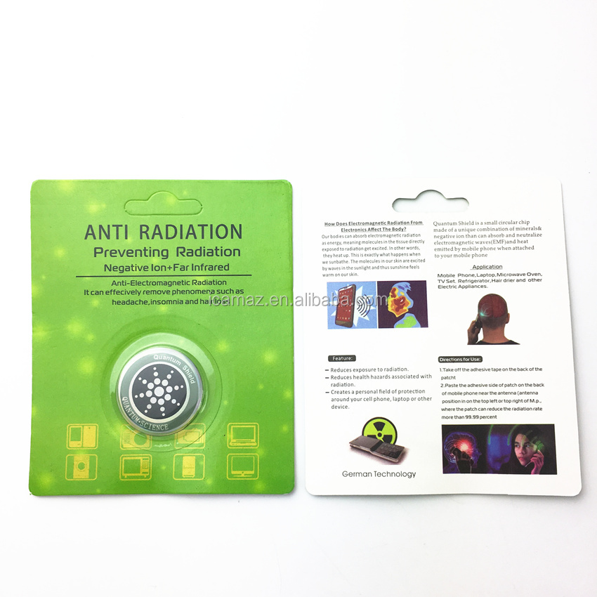 EMR Negative ion Sticker Anti radiation EMF Protection