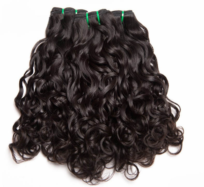 10A Remy Mink Brazilian Hair Water Wave Weft รวมกลุ่ม Dropshipping ผม Vendor