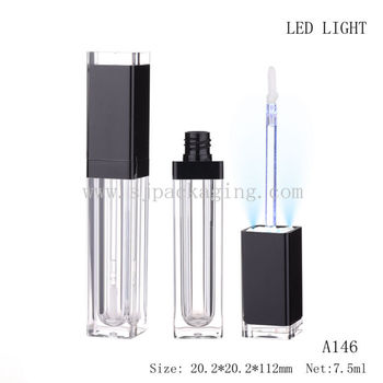 Lip Gloss With Led Light And Mirror Lip Gloss Tubes