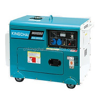 KINGCHAI Power Machinery 2Kw 3Kw 5Kw 7Kw 10Kw Air-Cooled Silent Diesel Generators