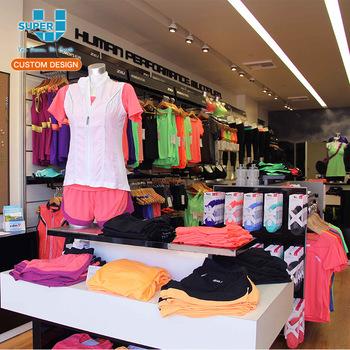 2dd75bef51789 Super U Shop Raccord Professionnel Super Magasin De Sport Vêtement Design  D'intérieur Sport Magasin