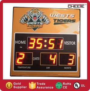 Latest Digital Clock Table Calendar With Your Logo 2016