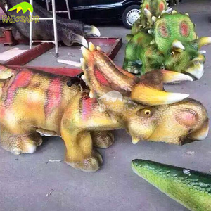 KANOSAUR7207 Prehistoric World Kids Attraction Walking Realistic Model Dinosaur