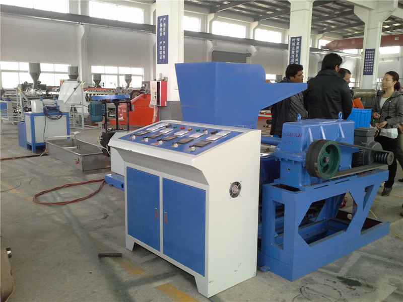Pe Film On-Line Recycling Machine
