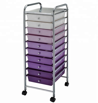 10 Multicoloured Storage Unit Drawer Trolley Portable Home Office Beauty  Wheels   Buy Plastic Drawer Trolley With Wheels,Plastic Storage  Cart,Plastic ...