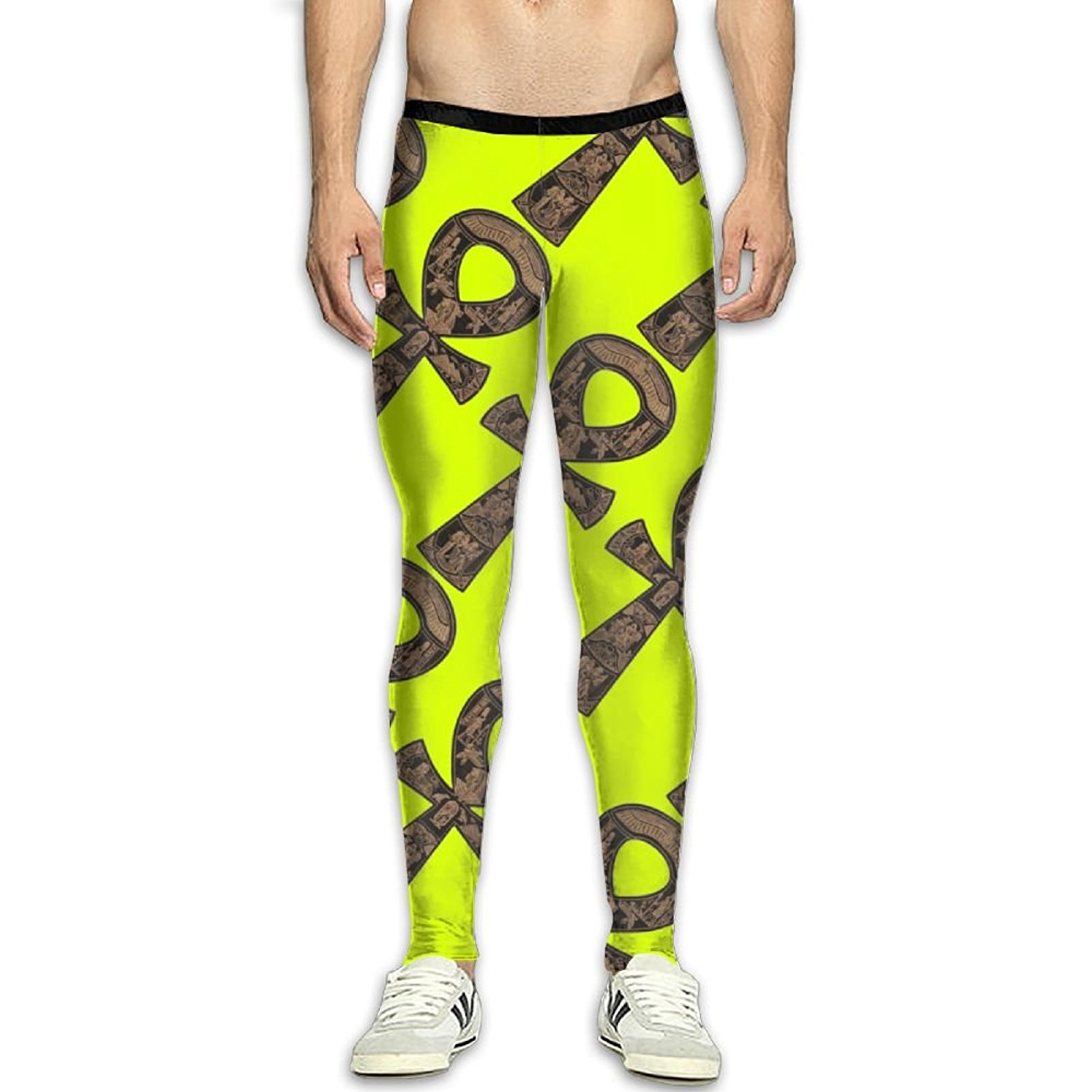 28edf7c4fce6c Get Quotations · Virgo Ancient Egyptian Ank Stretchy Compression  Pants/Running Tights Leggings Ladies Winter