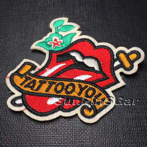 Custom No minimum wedding decoration patch embroidery for clothing