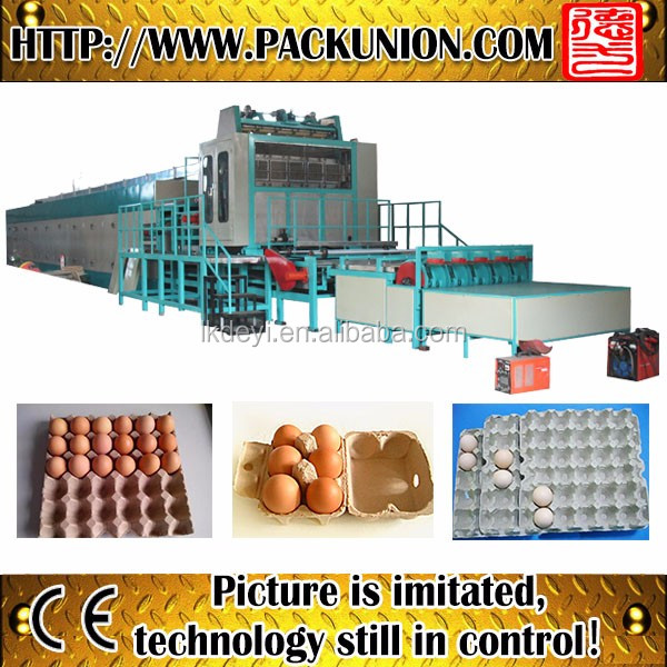 paper pulp egg tray/pallet machine egg tray making