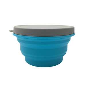 travel silicone bowl set collapsible food bowl