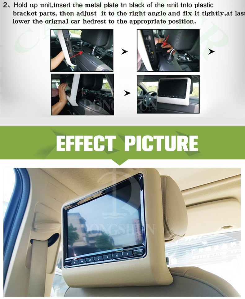 HDMI 10.1 inch monitor for car