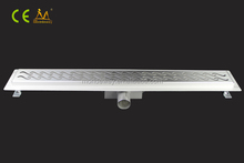 700mm brushed grating luxury surface shower channel trench drain