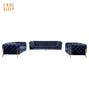 Home furniture Living room luxury 3 sets fabric sofa full set
