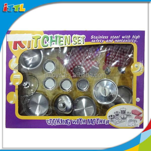 Kids Kitchenware Toys Crazy Toys For Kids Stainless Steel Kitchen