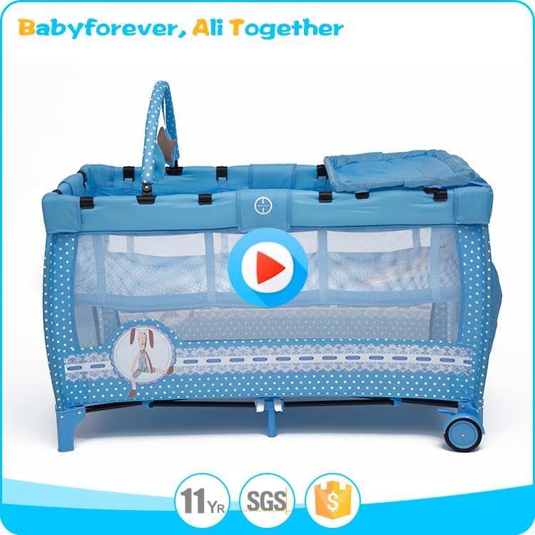 Chinese style custom made baby playpen baby crib sale