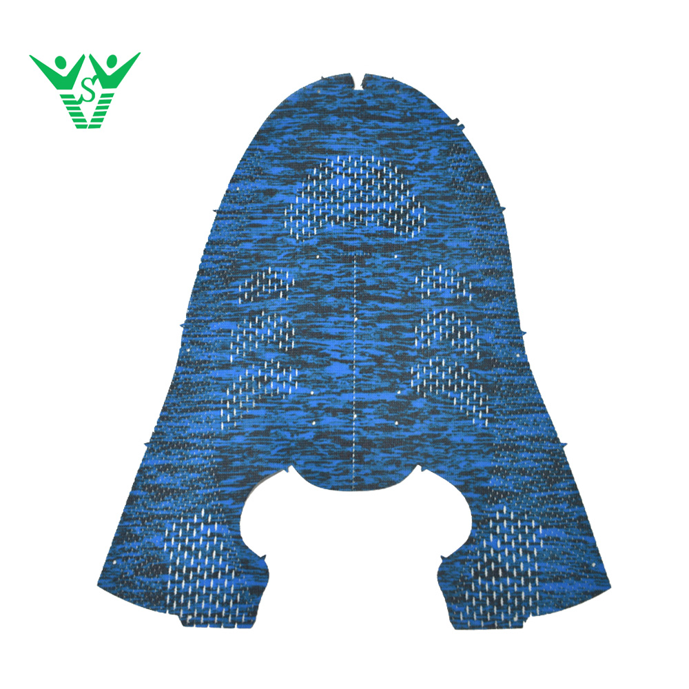 Top flyknit fabric running shoes shoe covers upper for sport shoes