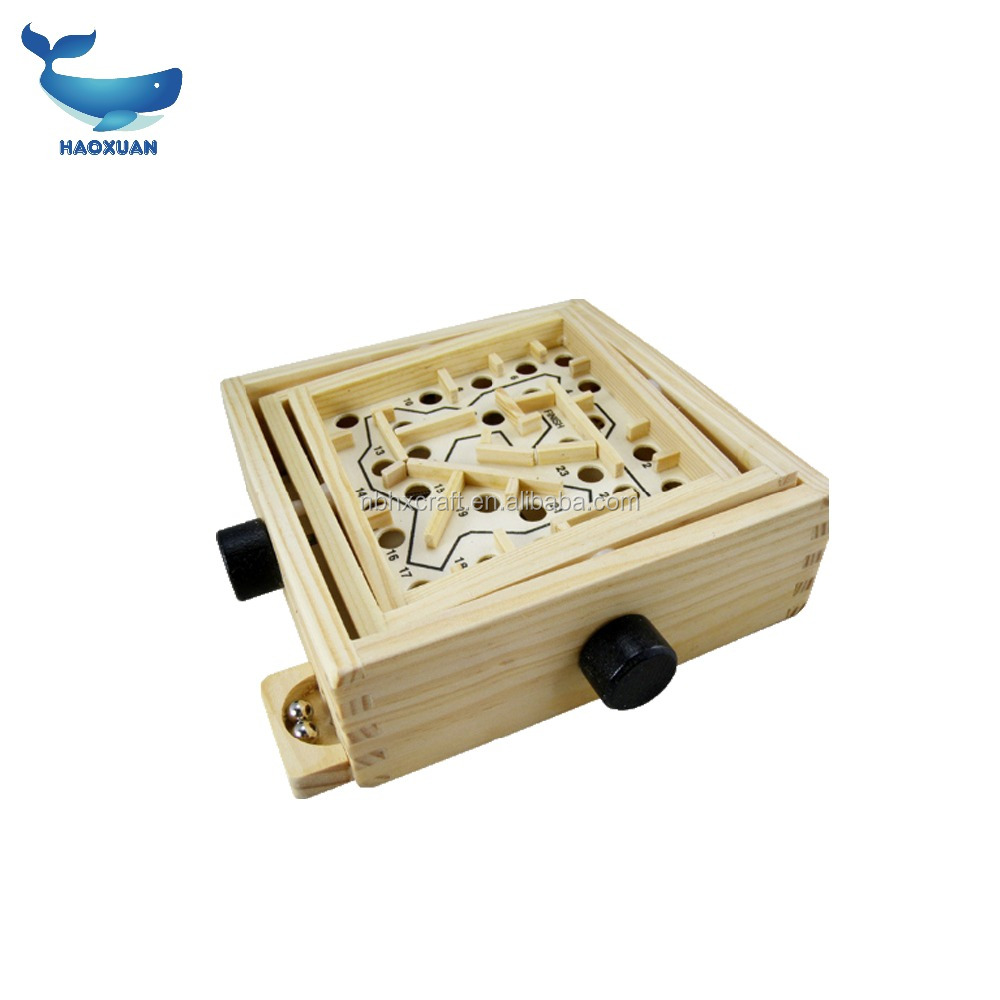 2018hot sale Labyrinth wood Labyrinth Maze <strong>game</strong> for kids brain <strong>games</strong>