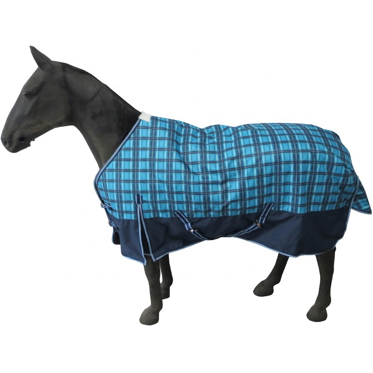 600D Plaid paard winter opkomst deken