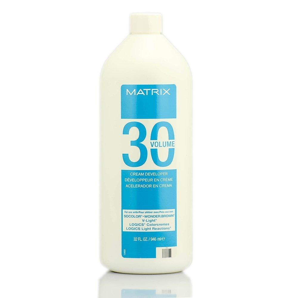 Matrix Cream Developer -Option 30 Volume - 32 oz