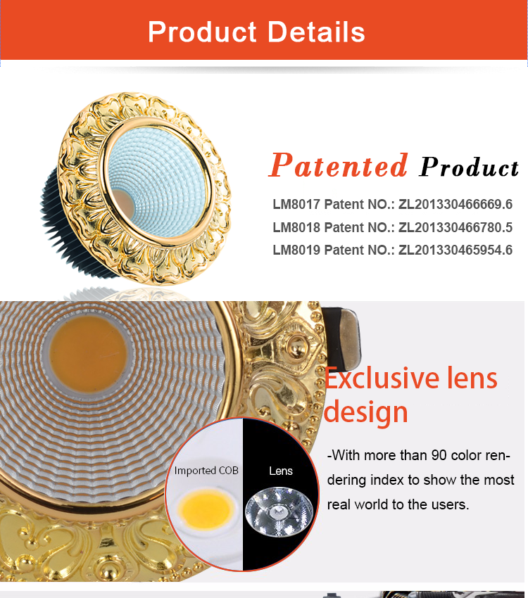 cob 10w led down light hot sale led 10 watt down light manufacturer