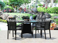 Wicker&Rattan Dining Table Garden Table