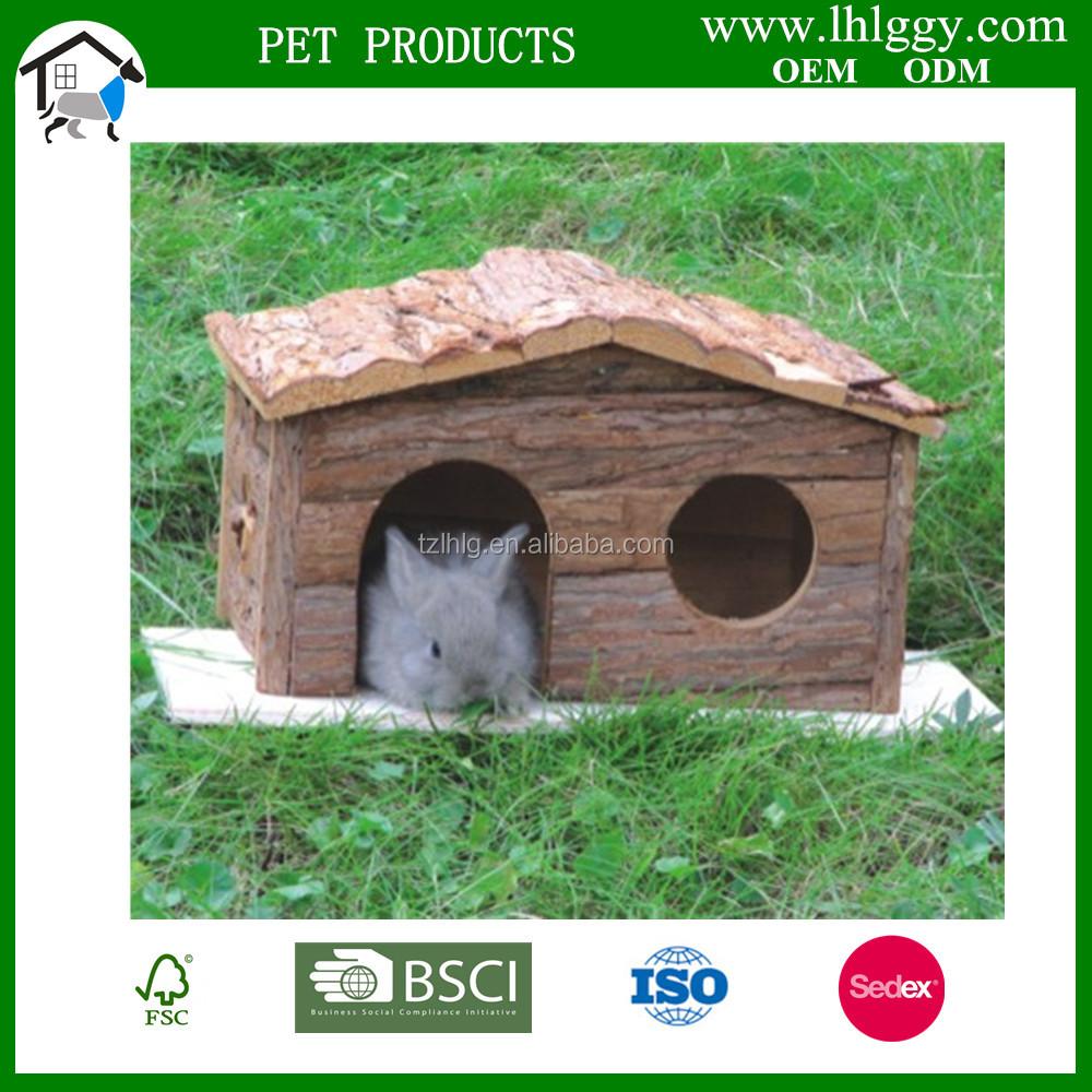 Reptil Habitat Kayu Ferret Kelinci Guinea Pig Kandang Hewan