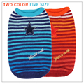 2016 Warm Wool Winter Pet Dog Clothes Sweater sleeveless Super Cute Red Blue Clothes for Small