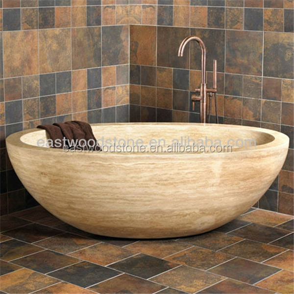 yellow stone bathtub for bathroom - buy natural stone bathtub for