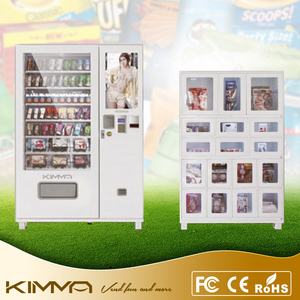 Self service LCD screen adult products condom vending machine