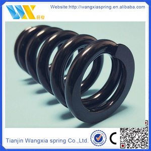 round Silicon manganese spring steel wire rock drill pressure coil compression springs