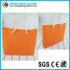 Fashion lady handbag, silicone smart purse, lovely candy color wallet