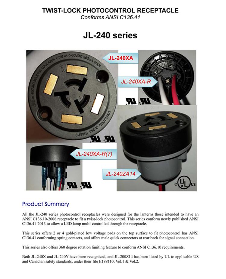 Ip65 waterproof ul proved nema photocell receptacle sensor buy 1g publicscrutiny Images