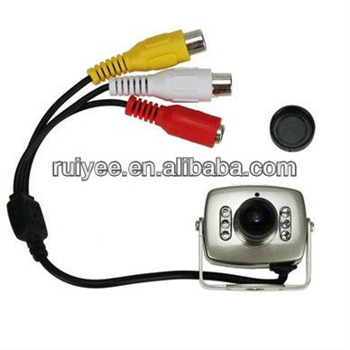 RY-208C Mini Camera Wired CCTV Security Color Night Vision Infrared Hidden Video Cam