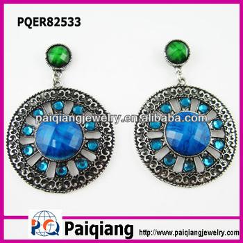 Daily Wear Fashion Design Online Artificial Jewellery Pearl Stud Copper Earrings