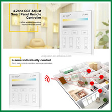 Milight T2 LED Color Temperature Dimmer Controller AC90-110V / AC180-240V RF Wireless Touch Panel Remote CCT Controller Dimmer