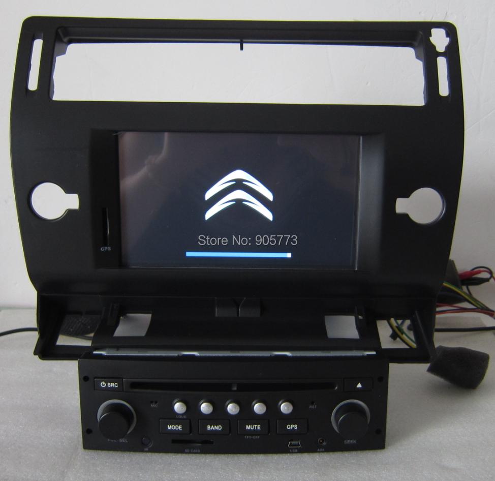 ay 2901 citroen c4 dvd de voiture avec gps int gr tv bluetooth ipod radio cran tactile. Black Bedroom Furniture Sets. Home Design Ideas