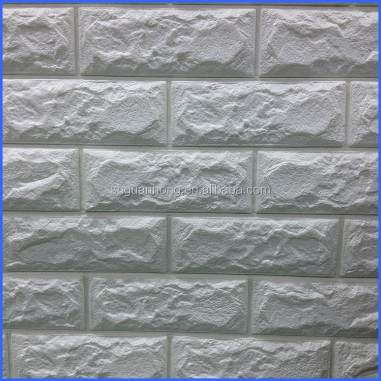 Pe Foam Wall Tiles Wall Bricks Interior Decorative Foam