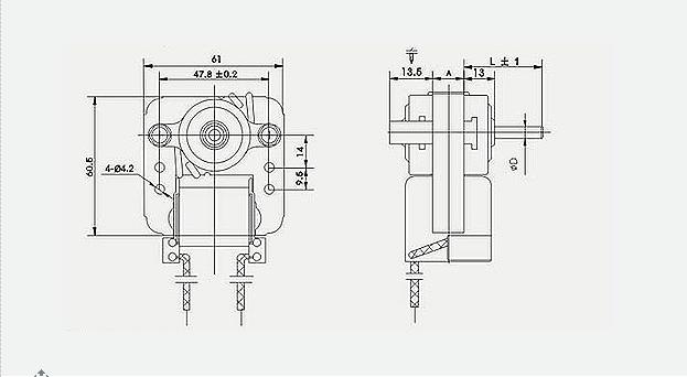 ac cooker fan motor kitchen electric mini motor