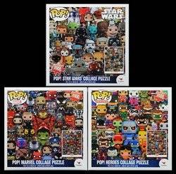 Buy Funko Pop Heroes Dc Comics Pop Heroes Star Wars And Marvel Collage Jigsaw Puzzle 1000 Pieces Per Puzzle 3000 Total Pieces Gift Set Bundle 3 Pack In Cheap Price On Alibaba Com