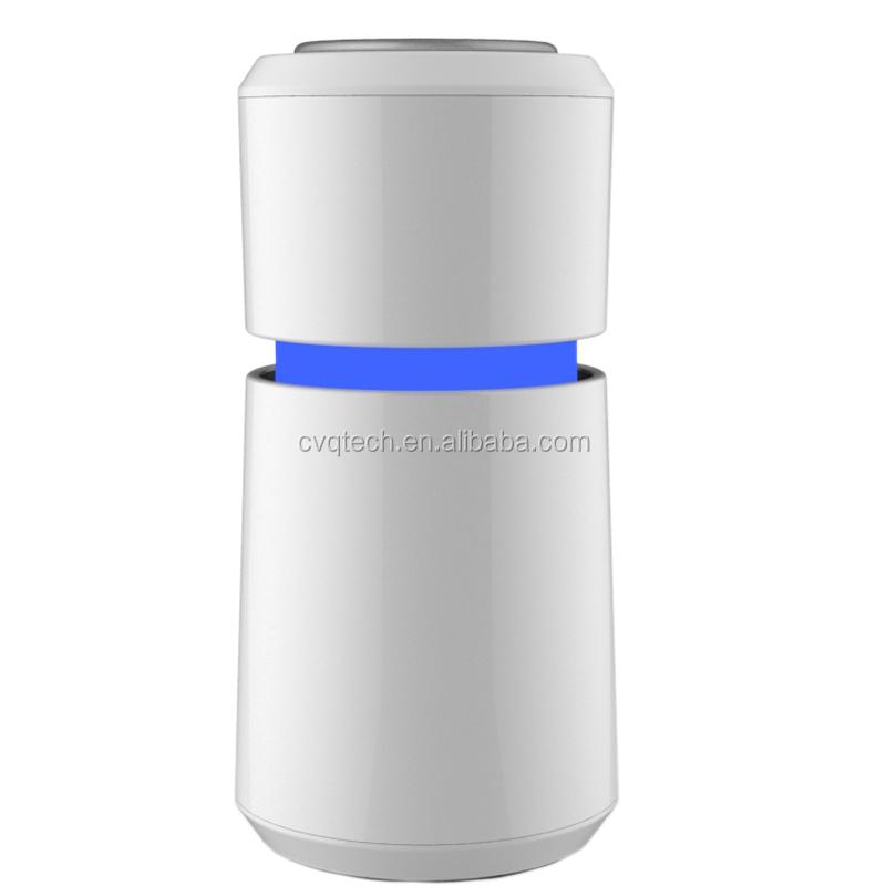 Kore hava temizleyici yeni tasarım plazma nesil ozon İyonik Usb Mini Araç Iyonlaşma Hepa hava temizleyici araba için