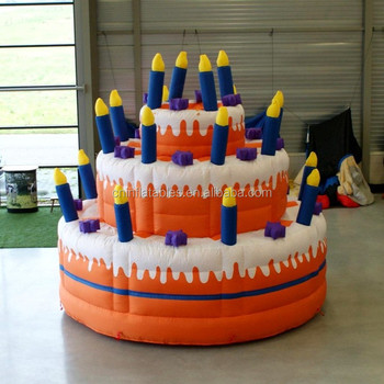 Vivid Inflatable Birthday Cake Model For Sale Buy Inflatable