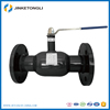 Forged free samples long working life flange handle ball valve 201 304 316 material
