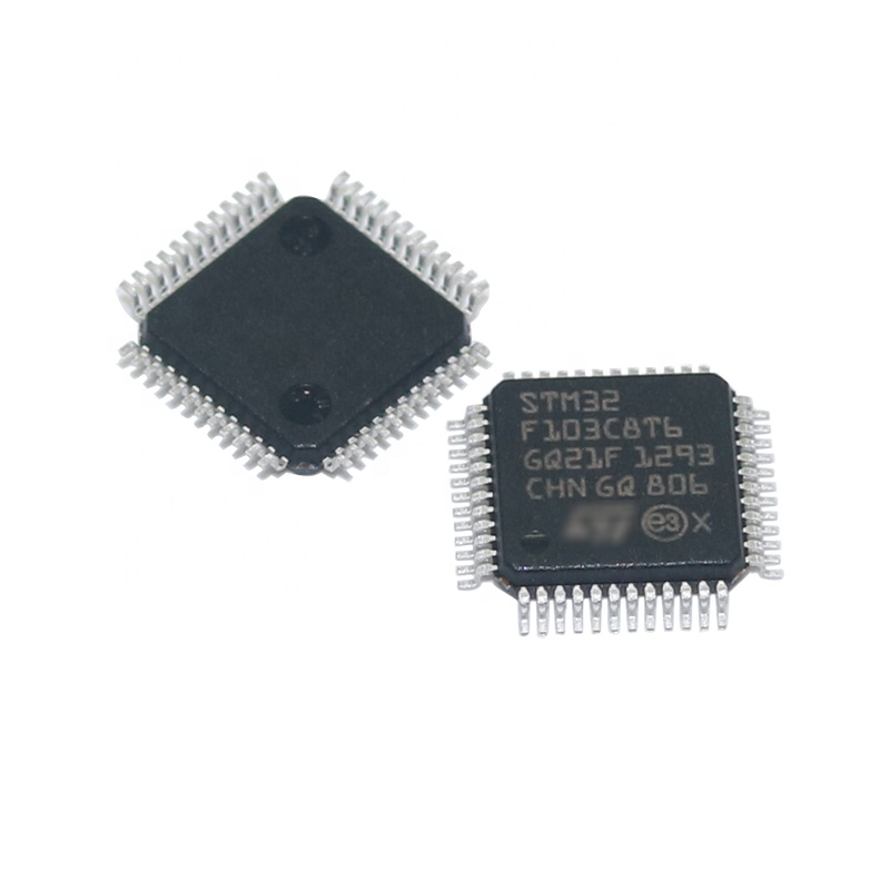 STM32F103C8T6 IC Chip Original <strong>ARM</strong> Cortex-M3 LQFP48 32Bit MCU STM32F103 STM32F103C8T6R Electronic Components Supply Directly