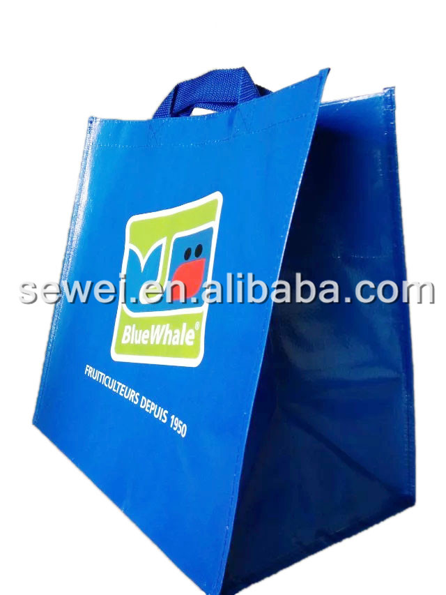 Ecofriendly Recycled PP Woven Shopping Bag Wholesale