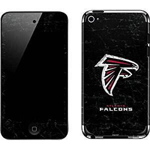 NFL Atlanta Falcons iPod Touch (4th Gen) Skin - Atlanta Falcons Distressed Vinyl Decal Skin For Your iPod Touch (4th Gen)
